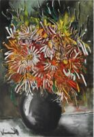 Maurice von Vlaminck: Blumen China - Lithografie Unterzeichnet, 1958, Mourlot