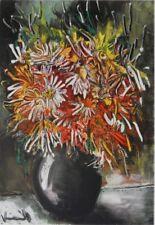 Maurice de Vlaminck (d'après) - Fleurs de Chine - LITHOGRAPHIE signée #1958