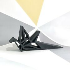 Japanese Crane Doorstop - 3D Printed - Home Decor - Geometric - Origami