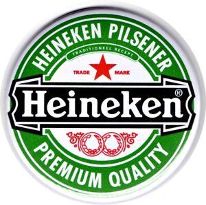 """Heineken Jumbo Fridge Magnet Beer Mat Bar Ale  3"""" 75mm Blade Sub Lager"""