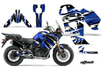 Street Bike Graphics Kit Decal  Wrap For Yamaha Tenere 1200 2012-2014 ATTACK BLU