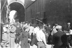 Valletta Market Malta . World War 2 photograph