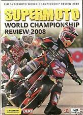 SUPERMOTO - 2008 OFFICIAL REVIEW   DVD - FREE POST IN UK