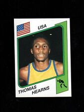 1986 Panini-for-Italy Boxing Thomas Hearns~The Hitman~WBA WBC Champion