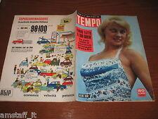 RIVISTA TEMPO 1956/33=HELENE REMY=TRIBU' PIAROA GUIANA=SILVANA MANGANO=