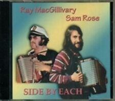 Ray MacGillivary Sam Rose - Side By Each RARE Original Canadian Accordion NEW CD