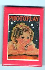 PHOTOPLAY Cover Precious SHIRLEY TEMPLE pocket mirror