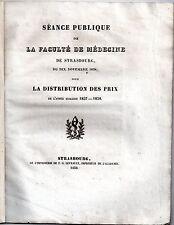 HISTOIRE DE LA MEDECINE E.F. BOUISSON DE L'AVENIR DE LA PHYSIOLOGIE PRIX 1838
