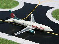 Gemini Jets GJAWE555 America West Airlines Boeing 737-300 REG#N315AW 1:400 Scale