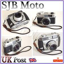 Nylon/Leather Wrist Strap Vintage Agfa Zeiss Canon Nikon Olympus Leica Pentax