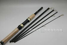 1X 1.8M 5 Sections Portable Travel Fishing Rod Spinning Rod Carbon Fishing Pole
