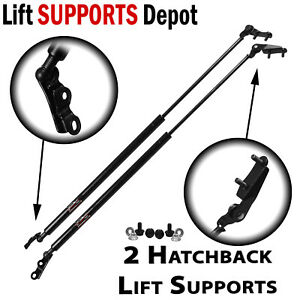 Qty 2 Fits Supra MKIV 93 to 98 Hatchback Lift Supports W/ Added Spoiler Wing