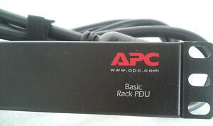 "APC AP9560 19"" RACK PDU (HEAVY DUTY) 110V-24 AMP. 10 OUTLETS"