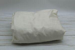 RALPH LAUREN Olivia Miranda Cotton Sateen Jacquard QUEEN Fitted Sheet Cream $145