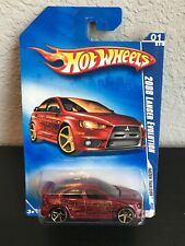 Hot Wheels 2008 Mitsubishi Lancer Evolution