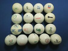 Mixed Lot of Golf Balls - Maryland Themed, Baltimore, Toshiba, Golf Courses etc