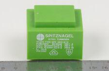 Transformer Encapsulated 230V/2x12V SPITZNAGEL Germany SPK 06001212 Epoxy Sealed