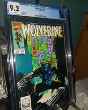 Wolverine #24 CGC 9.2 NM- Jim Lee Classic Cover.