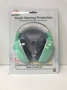 Jr. Walker's Youth Hearing Protection Ages 4 and Up Mint #GWP-YM-MINT