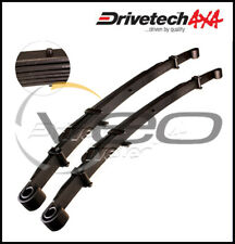 "MAZDA BT-50 B2500 UN 2.5L 9/06-8/11 DRIVETECH 4X4 REAR 2"" HD RAISED LEAF SPRINGS"