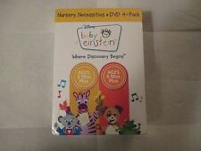 Baby Einstein - Nursery Necessities (DVD, 2009, 4-Disc Set)Factory Sealed