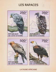 Birds of Prey Ivory Coast Mint 3540