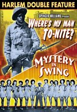 Harlem Double Feature: Where's My Man, To-Nite? (1943) / Mystery In NEW DVD
