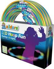 LED blinkt Kreis Glow Up Fitness Gewichtsverlust Bunte Fitness Hoop