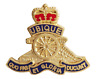 British Army Royal Regiment of Artillery Cut-Out Pin Badge - MOD Approved