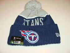 Tennessee Titans Knit On Field New Era Toque Beanie Player Sideline Hat Cap NFL