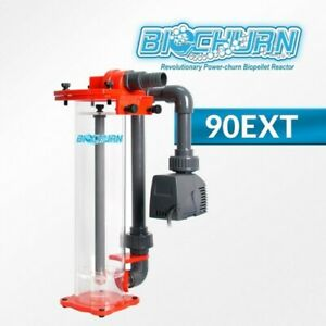 Reef Octopus BioChurn 90ext HOB Skimmer Reactor up to 100 Gal. Removes Nitrates