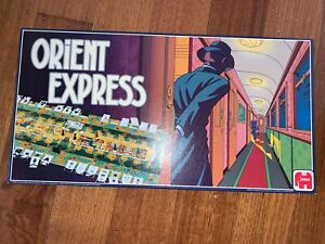 Orient Express vintage board game 1986 by Jumbo (Made in Holland)