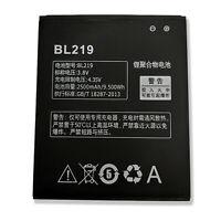 2500mAh 3.8V Replacement Battery for Lenovo Phone A889 A880 A890 A916 S856 BL219