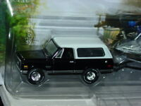 Johnny Lightning Gone Fishing Series 1969 69 CHEVY BLAZER w/BOAT & TRAILER Black