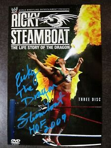 RICKY STEAMBOAT Authentic Hand Signed Autograph 4X6 Photo - HOF WRESTLER