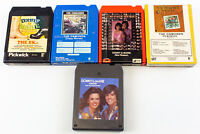Donny & Marie Osmond: Crazy Horse, Songbook, Homemade & More (5) 8 Track Tapes