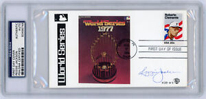1984 Reggie Jackson Signed World Series FDC PSA / DNA Certified Authentic