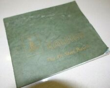RALEIGH The All Steel Bicycle Catalogue Brochure Retro Vintage 1970's / 80's
