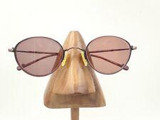 5d230d15002 Vintage Esprit 9027 046 Pink Black Metal Oval Round Sunglasses Frames