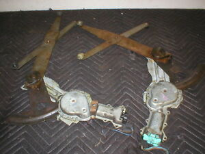 1982-92 Firebird Camaro L&R  Power motor Window Cranks Pair 91 90 89 88 87 86 GM