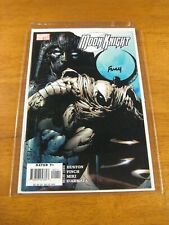 Wow! Moon Knight #1 *Signed By David Finch!* Coa!