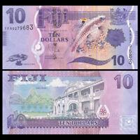 Fiji 10 Dollars Banknote, ND(2013), P-116, UNC, Australia Paper Money