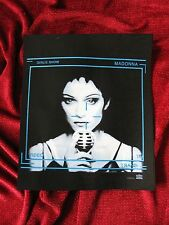 Madonna RAIN Girlie Tour Show 92 Prototype Tshirt Sample Board Erotica Sex Promo