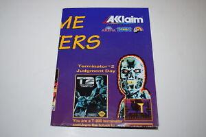 Video Game Blockbusters Acclaim Sega Genesis 1993 Game Catalog Poster Insert