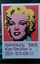 Marilyn Monroe Vintage Impresión A3 Papel pesado de lona de mejor calidad Warhol
