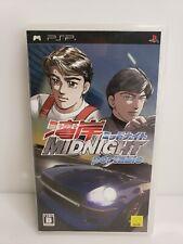 Sony Playstation PSP Midnight Portable Racing Genki Japan 2007 HTF
