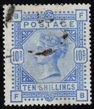 Victoria 1883-84 10s. ultramarine, used (SG#183)