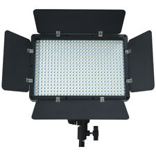 504 LED Light Panel Kit Photography Video Studio Lighting Dimmer Mount Photo