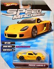 HOT WHEELS SPEED MACHINES PORSCHE CARRERA GT YELLOW W+