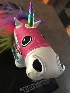 Scotty Cameron Gallery Unicorn Blade Cover W/tail